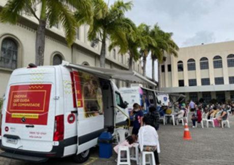 Grande Ação Solidária no Santuário Espírito Santo de Vila Velha