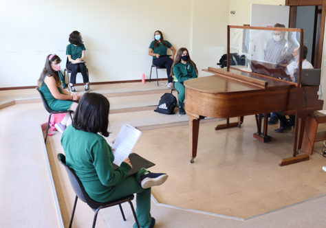 A música volta aos corredores do Instituto dos Meninos Cantores