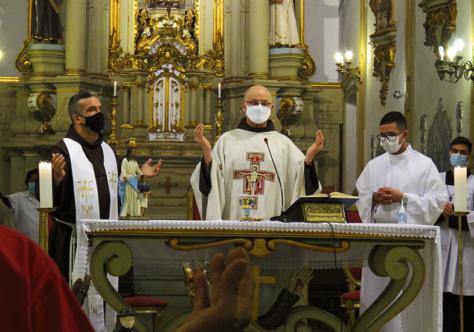 No Convento São Francisco, a homenagem aos nordestinos