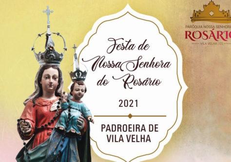 Vila Velha celebra a Padroeira Nossa Senhora do Rosário de 7 a 10 de outubro