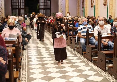 Festa de São Francisco de Assis na Paróquia São Luiz Gonzaga