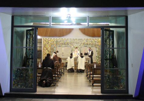Semana Santa intensa no Convento São Boaventura