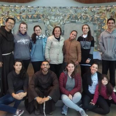 Encontro de Jovens no Convento Franciscano São Boaventura