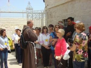 A sonhada peregrinação pelos lugares santos