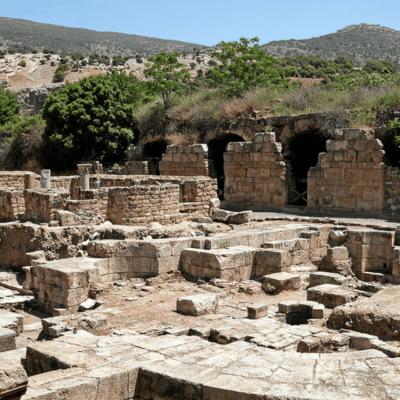 Sétimo Itinerário: Colinas de Golan – Cesareia de Filipe