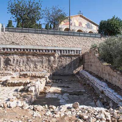 Novas descobertas arqueológicas no Getsêmani