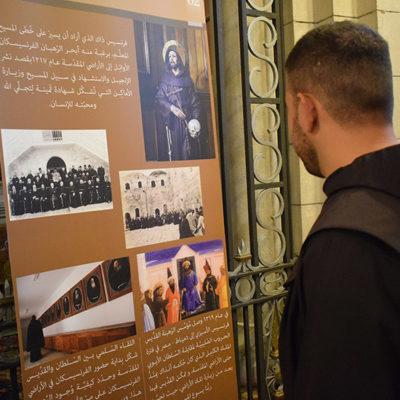 Exposição com imagens dos lugares Santos peregrina por Líbano, Síria e Iraque