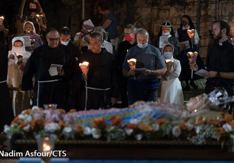 Jerusalém celebra a festa da Assunção de Maria