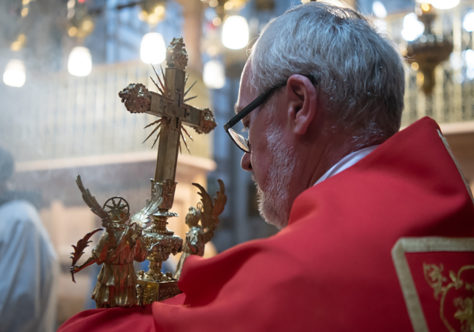 Festa da Exaltação da Santa Cruz, lugar da salvação para a humanidade