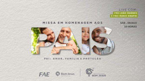 [Ao vivo] Celebre a missa do Dia dos Pais com a gente!