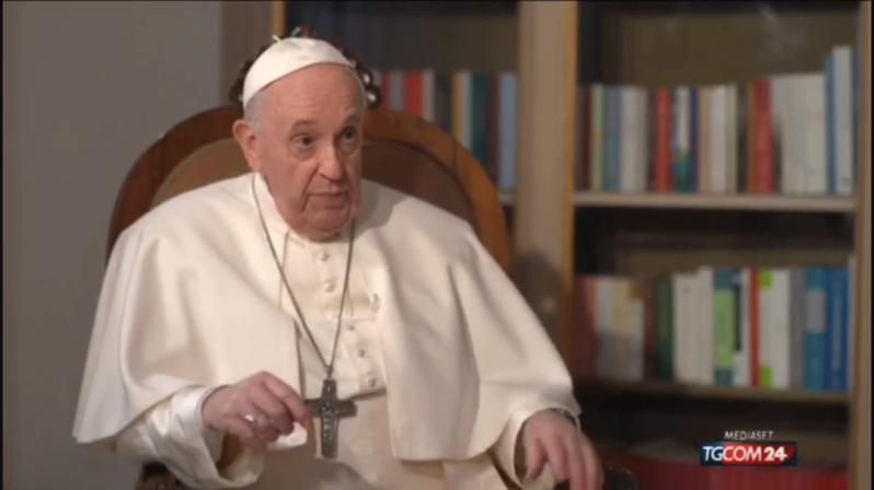 Papa Francisco fala sobre a vacinação contra a covid-19