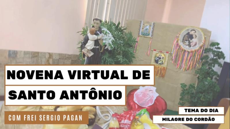 """Novena de Santo Antônio   7º dia: """"Milagre do Cordão"""""""
