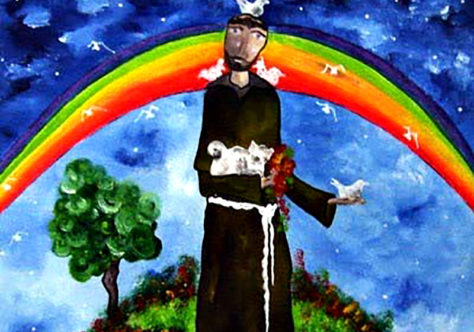 Francisco, o Santo-Alegria