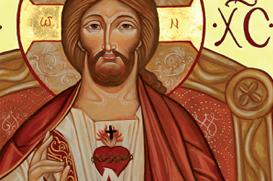Do Coração de Cristo mana uma bebida espiritual