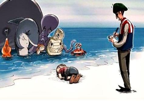 O pequenino afogado Ayslan Kurdi nos faz chorar e pensar