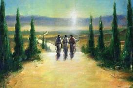 Encontros: Os discípulos que se dirigiam para Emaús