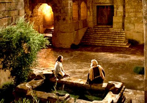 Um certo Nicodemos procura Jesus à noite