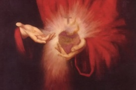 Uma fonte aberta no peito de Jesus