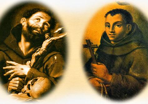 Os frades Francisco e Benedito