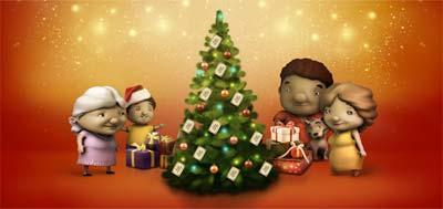 O natal e nossa família