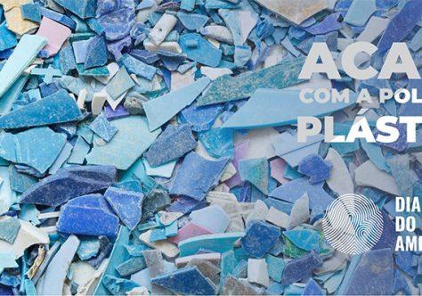 ONU conscientiza sobre o aumento da poluição plástica