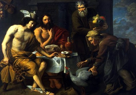Quem hospeda forasteiros, hospeda a Deus