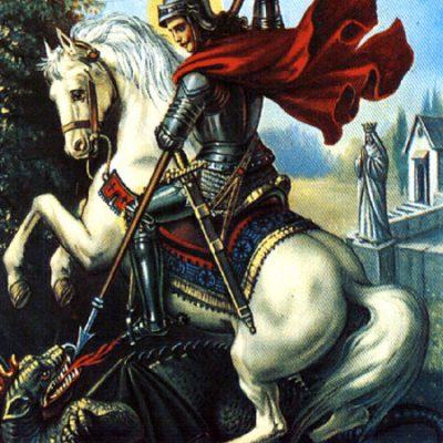 Os dois lados do ser humano: Dragão e São Jorge