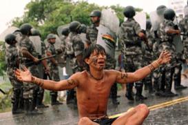 O medo dos povos indígenas serem exterminados para sempre