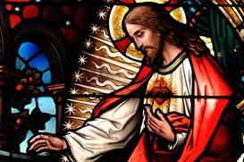 No coração de Jesus todo o amor de Deus