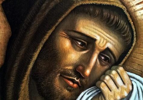 """""""Chorava em voz alta pela Paixão de Cristo"""""""