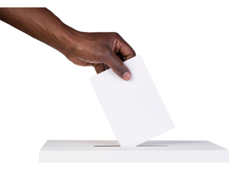 O voto nas eleições