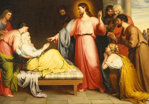 A sogra, o demônio e o sofrimento humano na inspiração de Mc 1,29-39