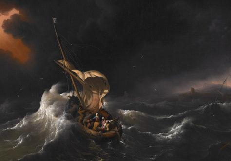 Passar para a outra margem com fé, sem medo e com máscara (Mc 4,35-41)