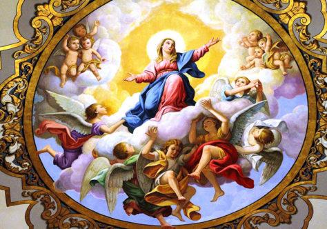 """O """"poder"""" da mulher vestida de sol do Apocalipse e de Maria na Assunção"""
