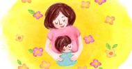Watercolor Mother's Day Background_4