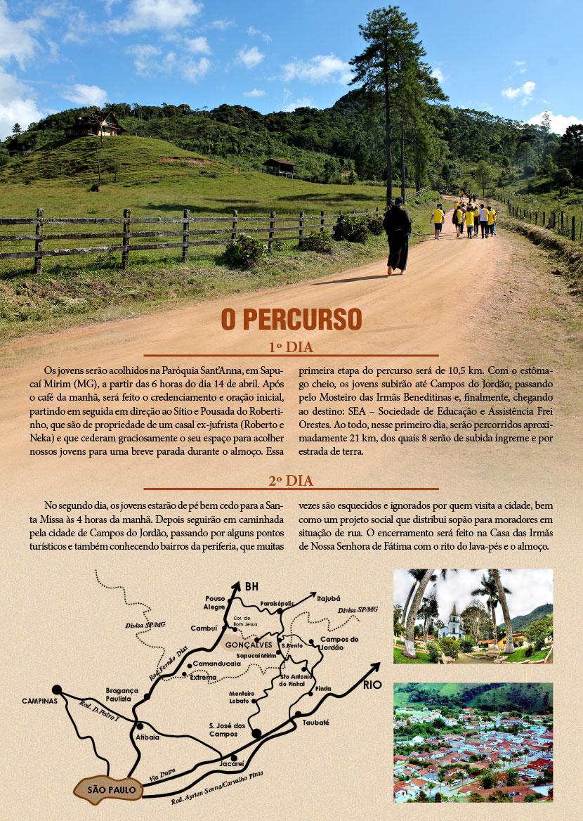 CAMINHADA-PERCURSO