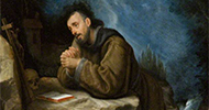 Allori, Cristofano, 1577-1621; Saint Francis in Prayer